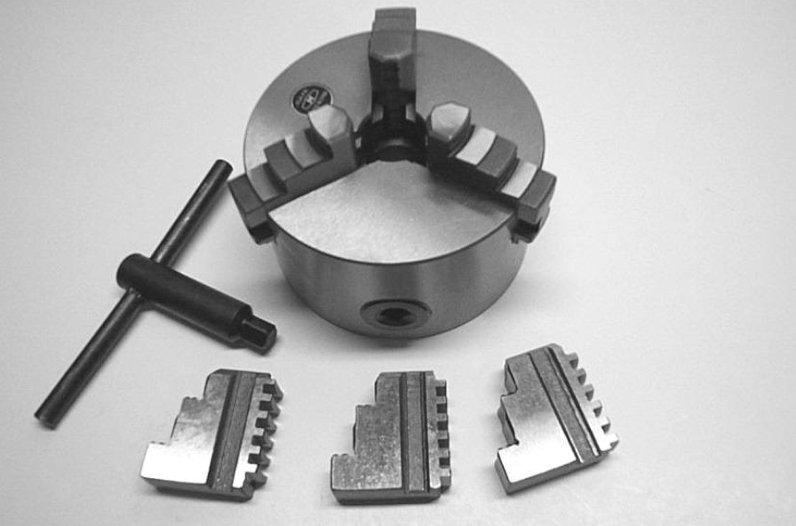 100mm 3 Jaw Self Centering Chuck