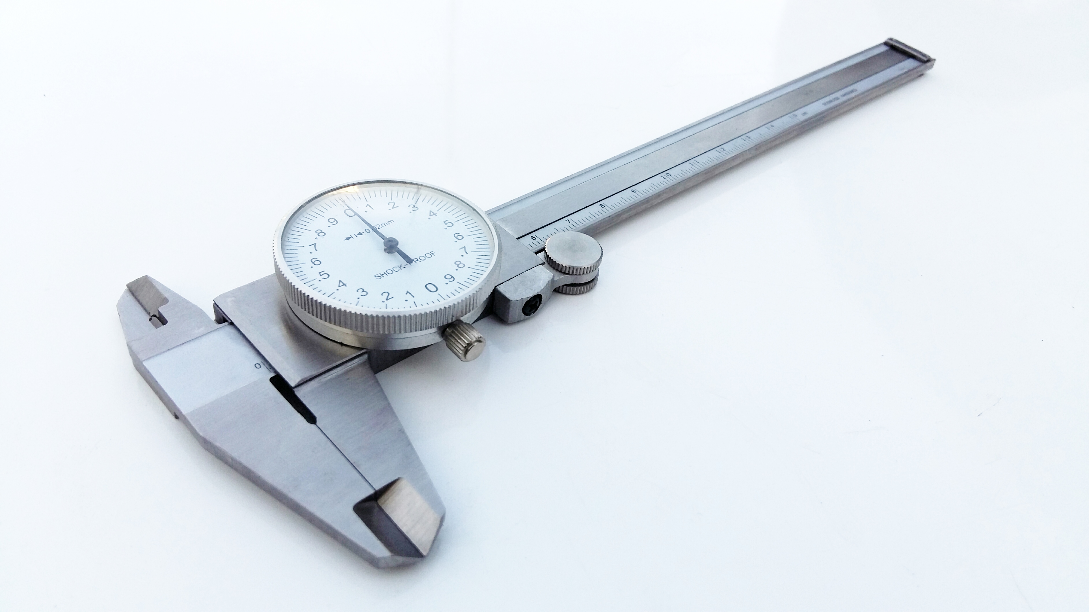 Dial Caliper Metric 0-150mm Stainless Hardened