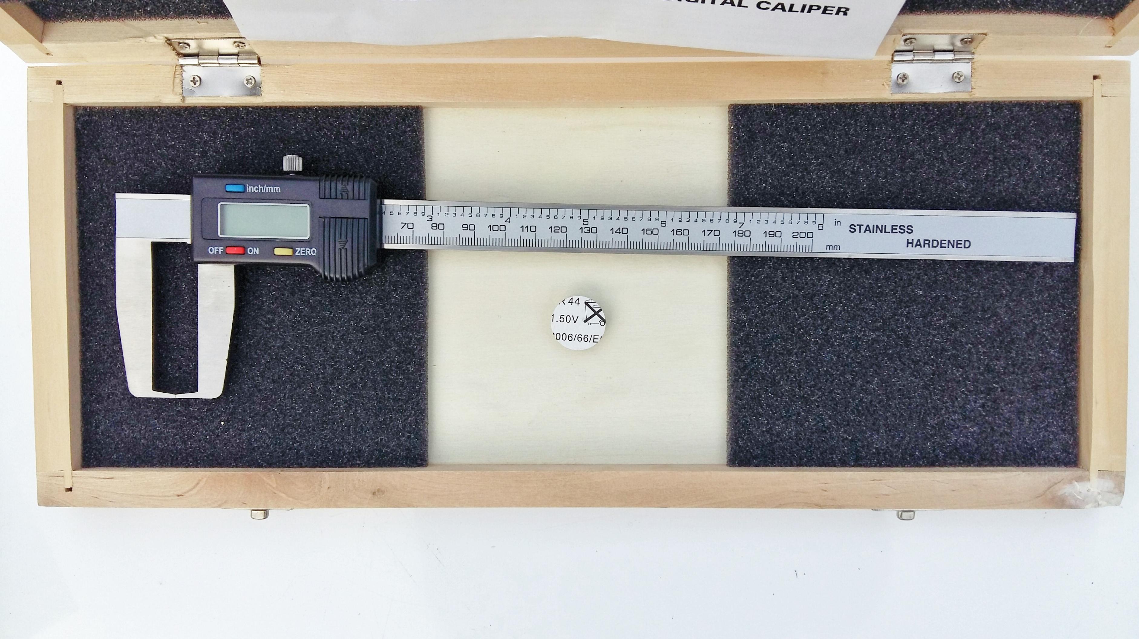 Digital Caliper Outside Groove Amp Hook Type 0 200mm 8 Quot