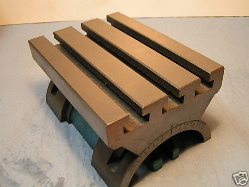 Swivel Tilting Angle Plate For Heavy Work With Graduation 7 x 10 Adjustable